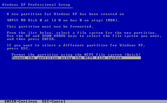 format-hard-disk-instalare-windows-xp