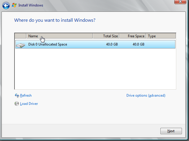 selectare-hard-disk-instalare-windows-server-2008